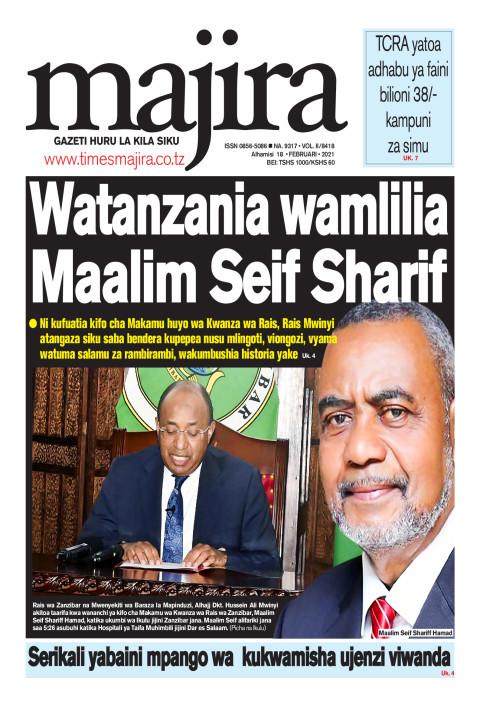 Watanzania wamlilia Maalim Seif Sharif   MAJIRA