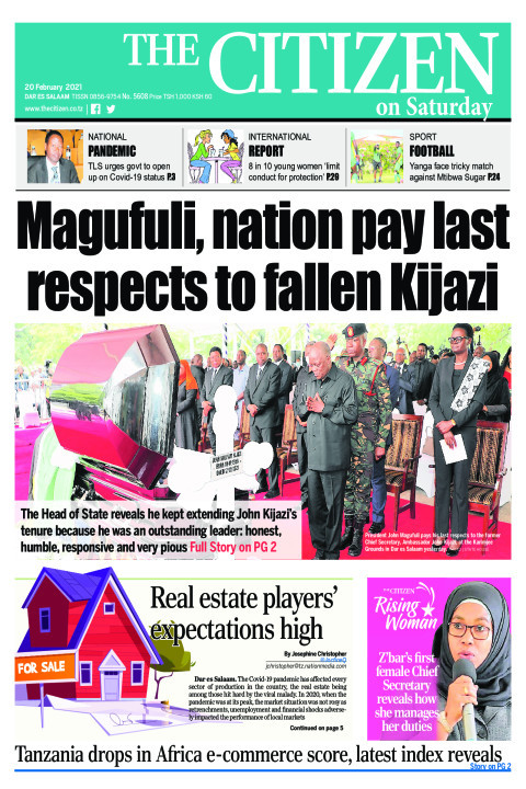 MAGUFULI,NATION PAY LAST RESPECTS TO FALLEN KIJAZI