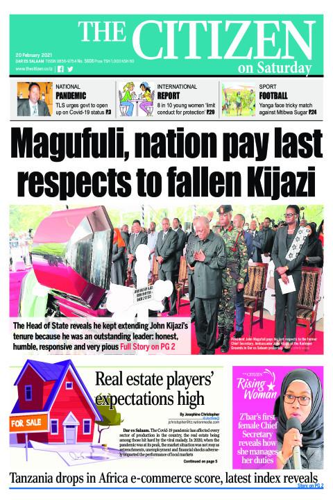 MAGUFULI,NATION PAY LAST RESPECTS TO FALLEN KIJAZI  | The Citizen