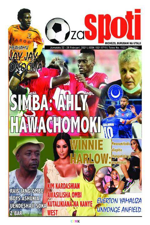 SIMBA: AHLY IMBA: AHLY HAWACHOMOKI AWACHOMOKI | ZA SPOTI