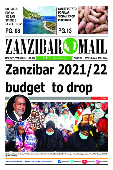 Zanzibar 2021/22 budget to drop | ZANZIBAR MAIL