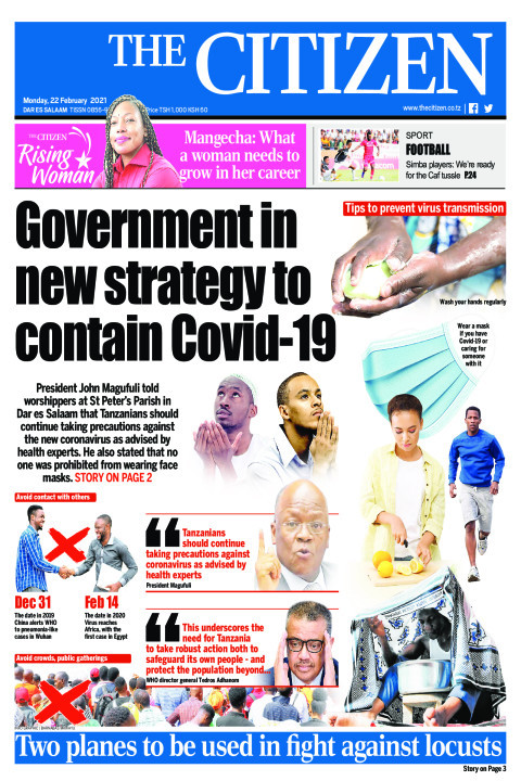 GOVERNMENT IN NEW STRATEGY TO CONTAIN COVID-19  | The Citizen