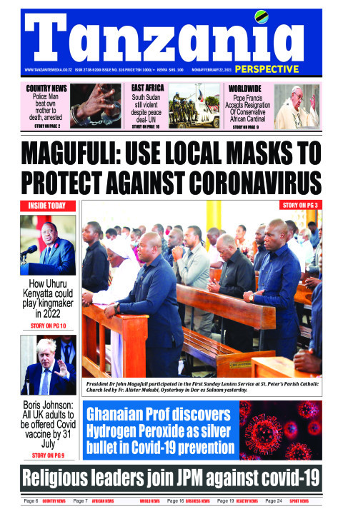 MAGUFULI: USE LOCAL MASKS TO