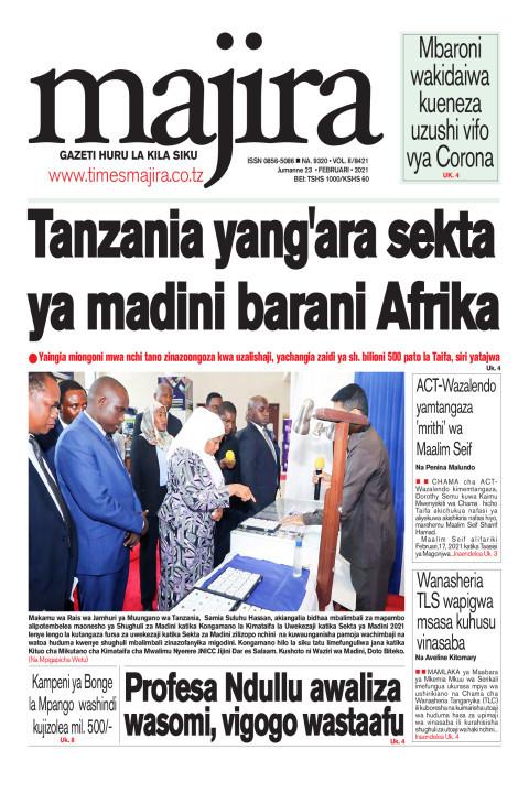Tanzania yang'ara sekta ya madini barani Afrika   MAJIRA