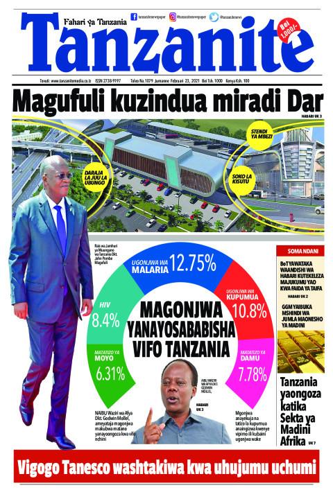 Magufuli kuzindua miradi Dar | Tanzanite