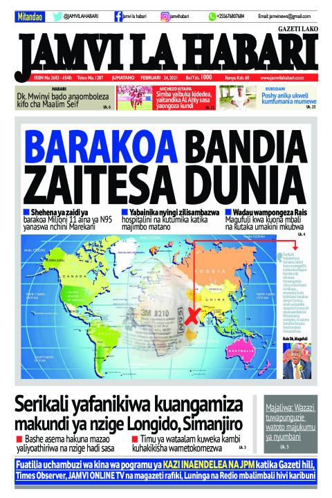 BARAKOA BANDIA ZAITESA DUNIA | Jamvi La Habari