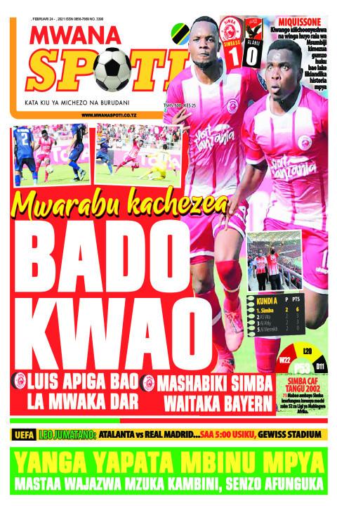 MWARABU KACHEZEA BADO KWAO    Mwanaspoti