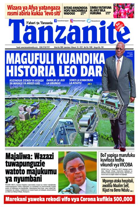 MAGUFULI KUANDIKA HISTORIA LEO DAR | Tanzanite