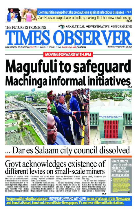 Magufuli to safeguard Machinga informal initiatives | Times Observer