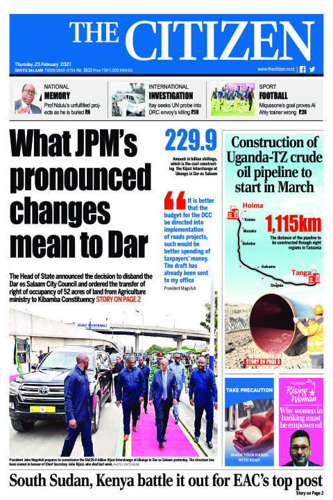WHAT JPM'S PRONOUNCED CHANGES MEAN TO DAR  | The Citizen