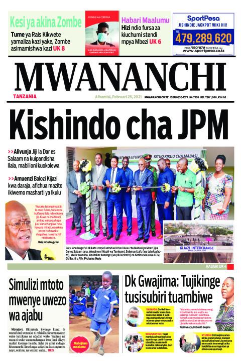 KISHINDO CHA JPM   | Mwananchi