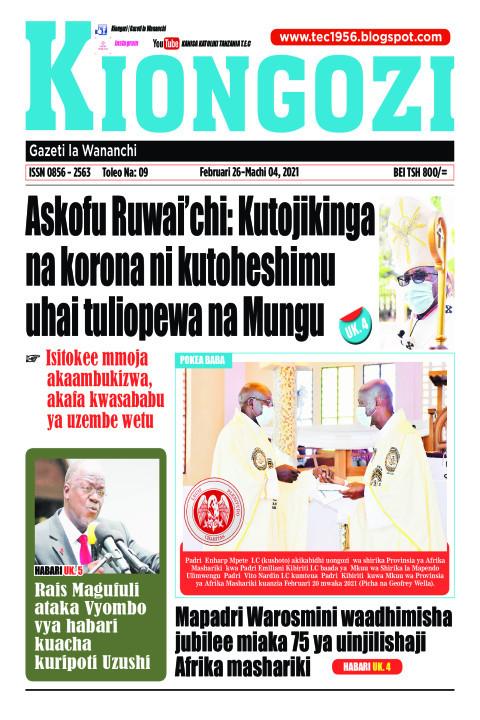 Askofu Ruwai'chi: Kutojikinga na korona ni kutoheshimu | Kiongozi