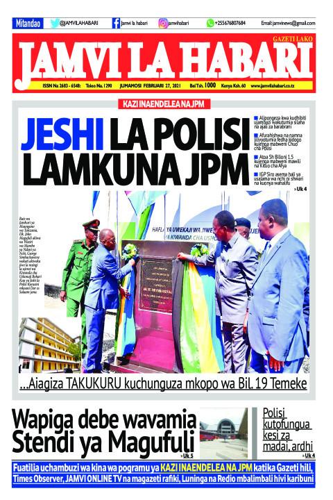 JESHI LA POLISI LAMKUNA JPM | Jamvi La Habari