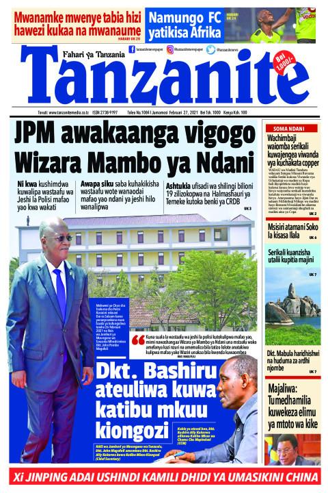 JPM awakaanga vigogo Wizara Mambo ya Ndani | Tanzanite
