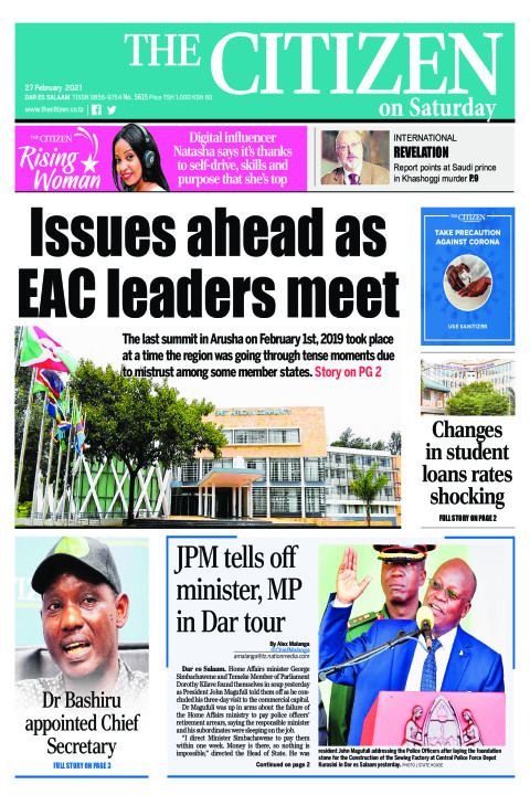 ISSUES AHEAD AS EAC LEADERS MEET  | The Citizen