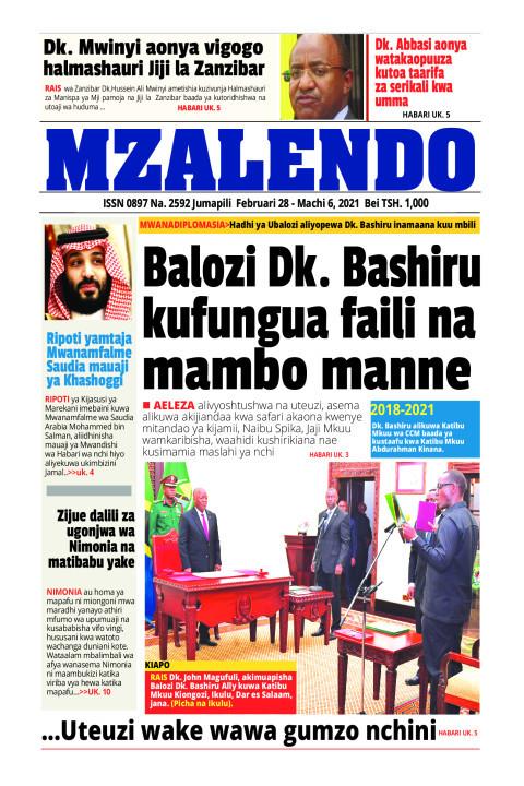 Nalozi Dk. Bashiru kufungua faili na mambo manne | Mzalendo