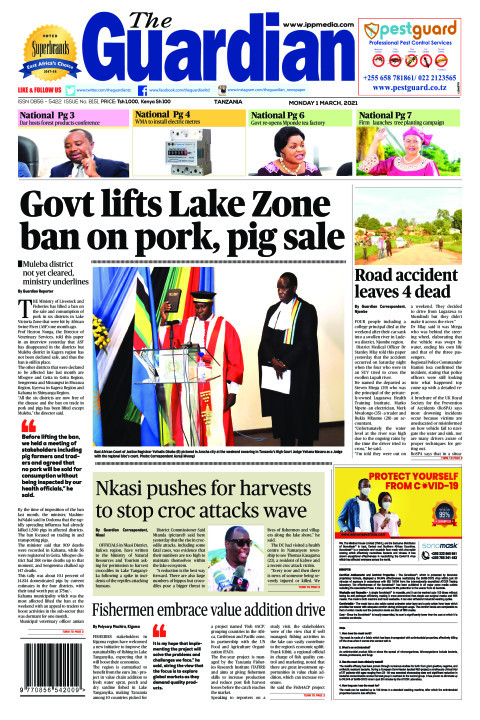 Govt lifts Lake Zone ban on pork, pig sale | The Guardian