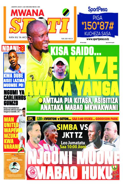 KISA SAIDO..KAZE AWAKA YANGA  | Mwanaspoti