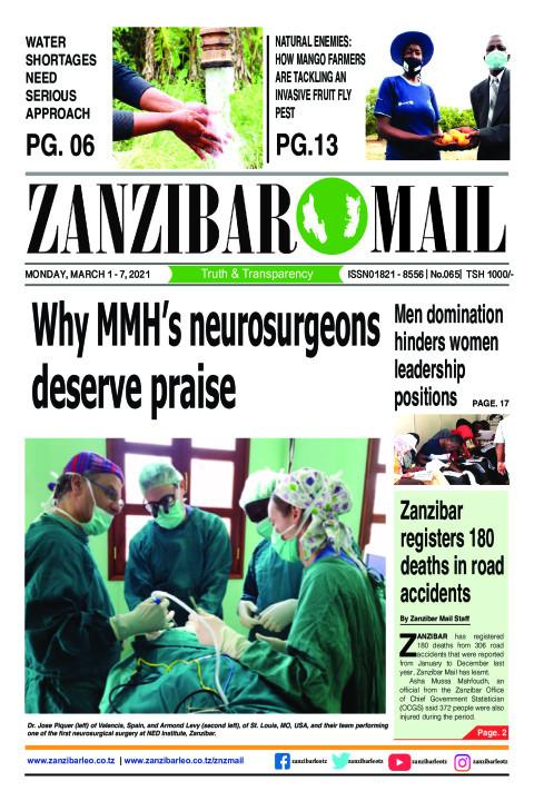 Why MMH's neurosurgeons deserve praise | ZANZIBAR MAIL
