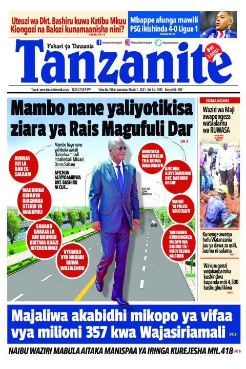 Mambo nane yaliyotikisa ziara ya Rais Magufuli Dar | Tanzanite