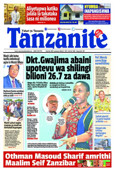 Dkt. Gwajima abaini upotevu wa shilingi bilioni 26.7 za dawa | Tanzanite