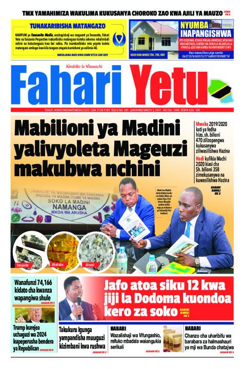 Mabilioni ya Madini yalivyoleta Mageuzi makubwa nchini | Fahari Yetu