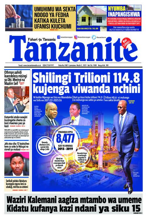Shilingi Trilioni 114.8 kujenga viwanda nchini | Tanzanite