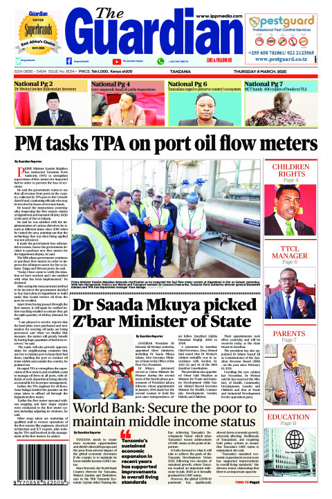 PM tasks TPA on port oil flow meters | The Guardian
