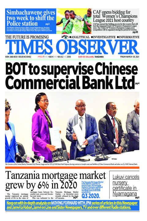 BOT to supervise Chinese Commercial Bank Ltd | Times Observer