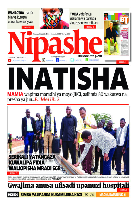 INATISHA   Nipashe