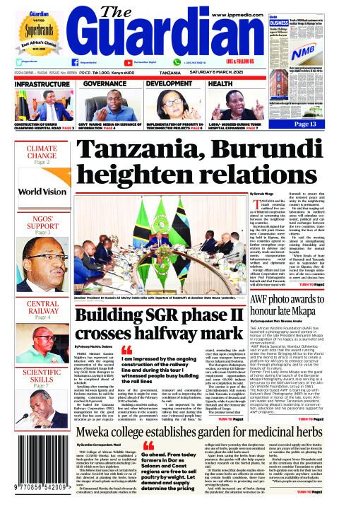 Tanzania, Burundi heighten relations | The Guardian