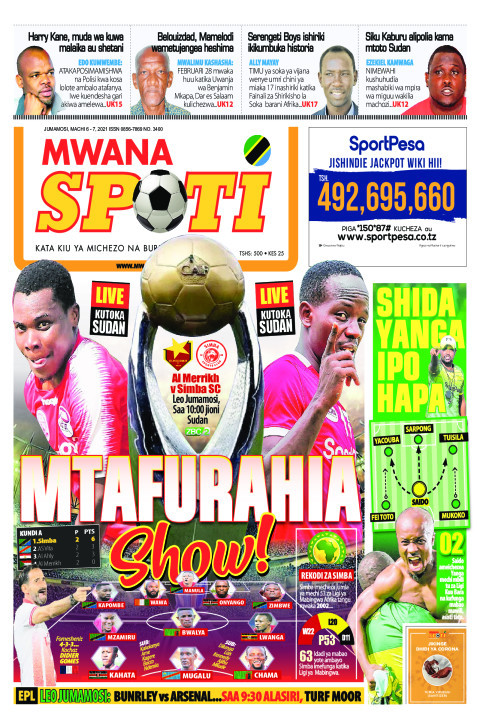 MTAFURAHIA SHOW!    Mwanaspoti