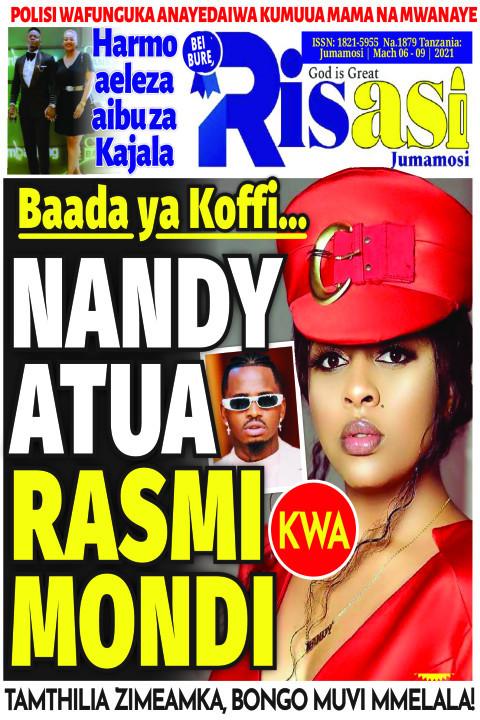NANDY ATUA RASMI KWA MONDI | Risasi Jumamosi