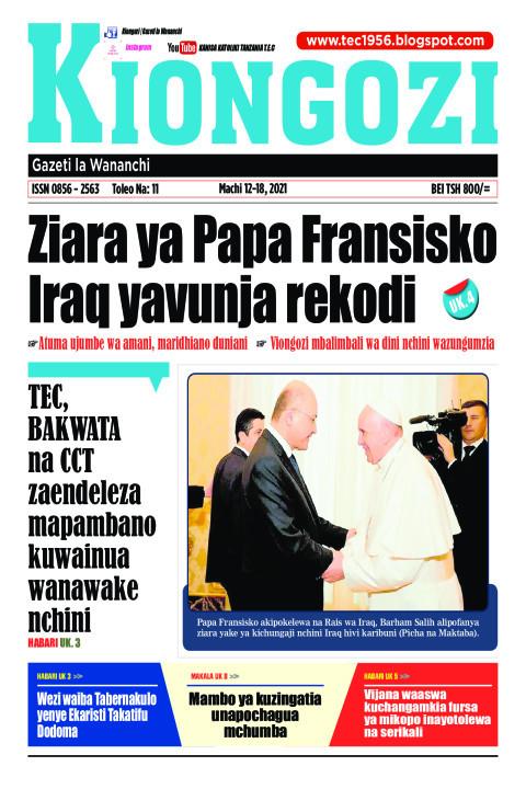 Ziara ya Papa Fransisko  Iraq yavunja rekodi | Kiongozi