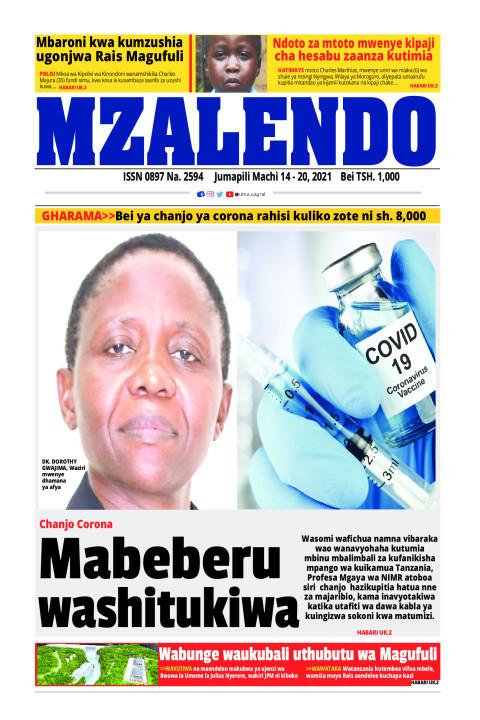 Mabeberu washtukiwa | Mzalendo