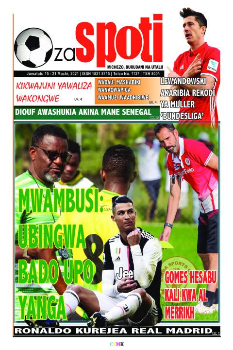 MWAMBUSI: WAMBUSI: UBINGWA BADO UPO ADO UPO YANGA | ZA SPOTI