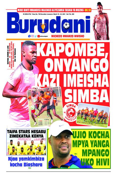 Kapombe, Onyango kazi imeisha Simba | Burudani