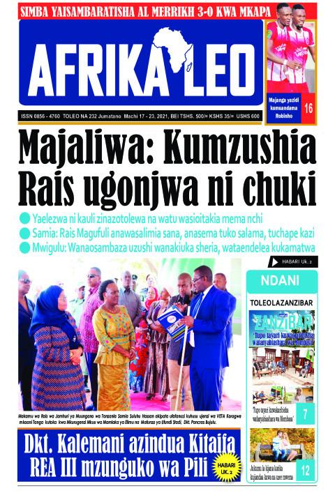Majaliwa: Kumzushia Rais ugonjwa ni chuki | AFRIKA LEO