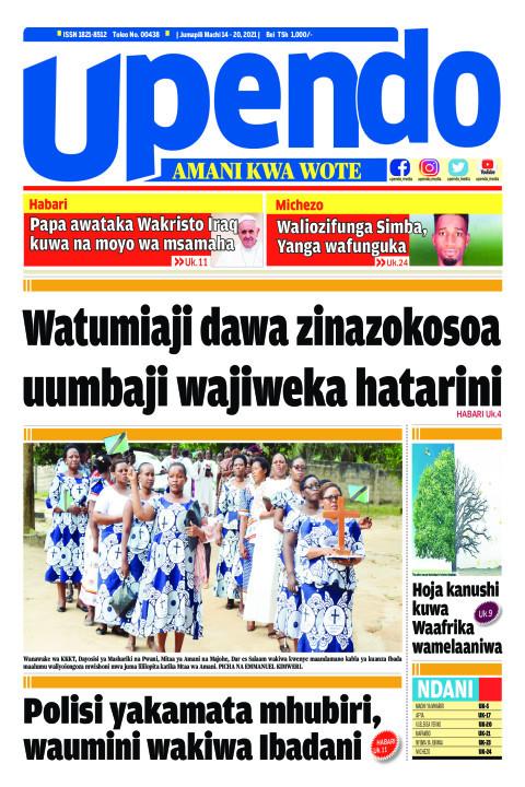 Watumiaji dawa zinazokosoa uumbaji wajiweka hatarini | Upendo