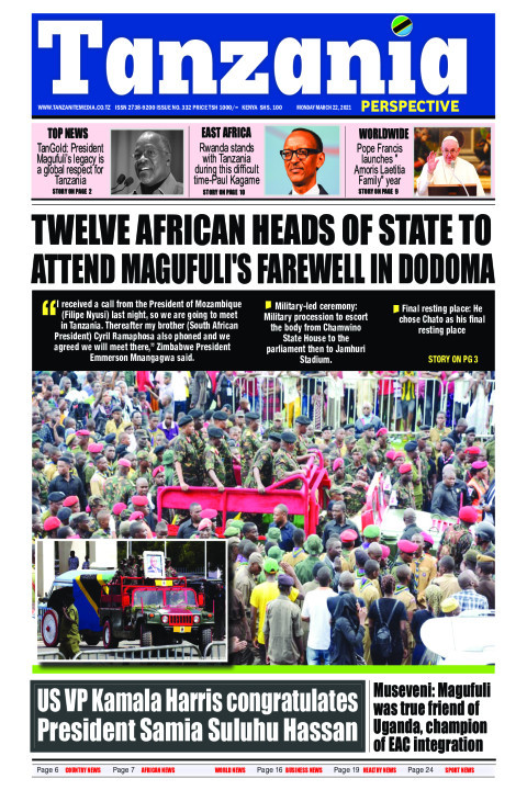 TWELVE AFRICAN HEADS OF STATE TO ATTEND MAGUFULI'S FAREWELL  | Tanzania Perspective