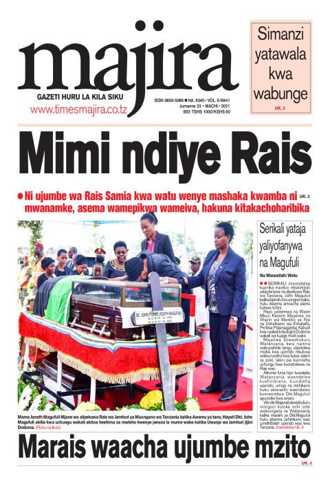 Mimi ndiye Rais | MAJIRA