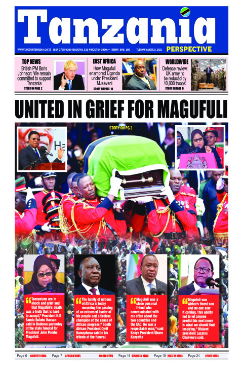 United in grief for Magufuli | Tanzania Perspective