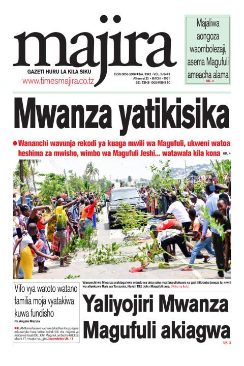 Mwanza yatikisika | MAJIRA