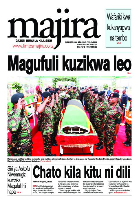 Magufuli kuzikwa leo | MAJIRA