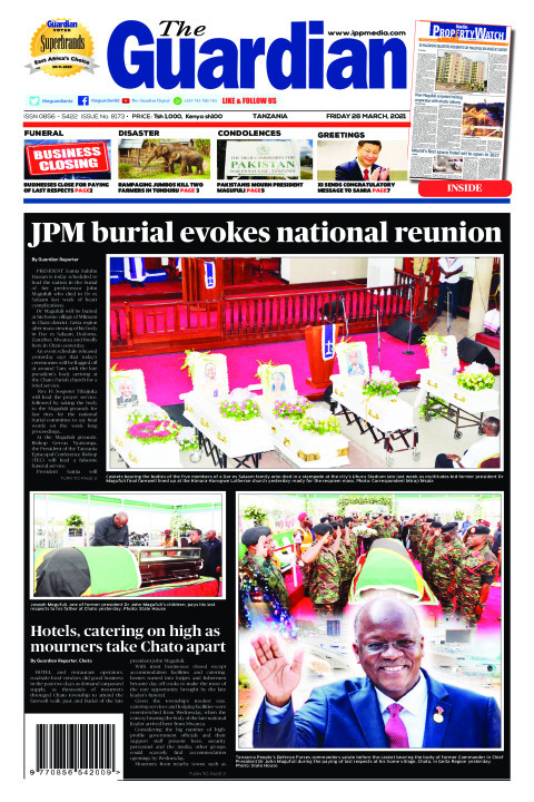 JPM burial evokes national reunion | The Guardian