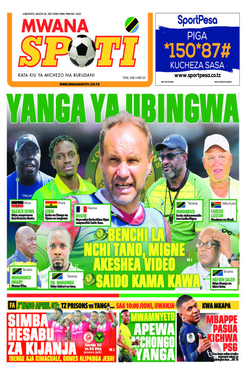 YANGA YA UBINGWA  | Mwanaspoti