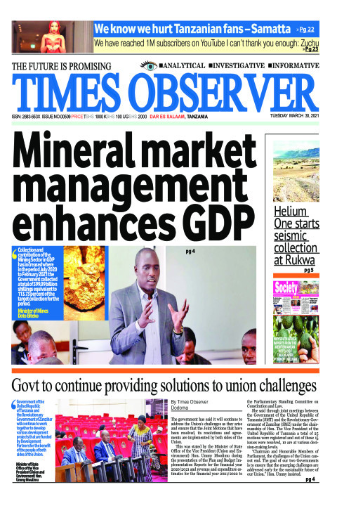 Mineral market management enhances GDP | Times Observer
