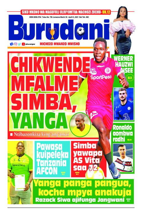 Chikwende Mfalme Simba, Yanga | Burudani