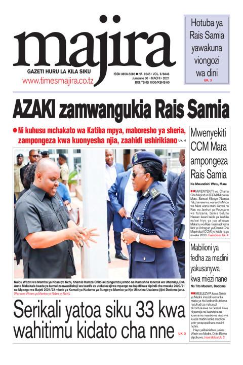 AZAKI zamuangukia Rais Samia | MAJIRA