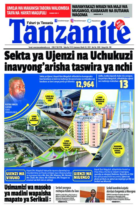 Sekta ya Ujenzi na Uchukuzi inavyong'arisha taswira ya nchi | Tanzanite